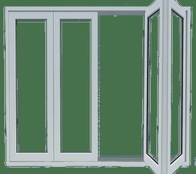 Pintu Lipat UPVC
